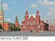 Государственный Исторический музей на Красной площади (2011 год). Редакционное фото, фотограф Евгения Плешакова / Фотобанк Лори