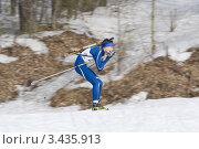 Купить «Биатлонист», эксклюзивное фото № 3435913, снято 24 марта 2012 г. (c) Шичкина Антонина / Фотобанк Лори