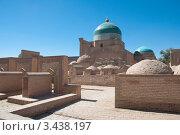 Купить «Могилы в старом городе (Ичан-Кала). Хива, Узбекистан», фото № 3438197, снято 13 сентября 2010 г. (c) Пётр Соболев / Фотобанк Лори