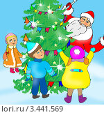 Купить «Новый год», иллюстрация № 3441569 (c) Анна Боровикова / Фотобанк Лори