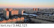 Купить «Вид на Чертаново Центральное, Бирюлево», фото № 3442121, снято 11 сентября 2019 г. (c) Владимир Горшков / Фотобанк Лори