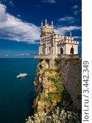 Купить «Крым, Замок Ласточкино гнездо», фото № 3442349, снято 29 мая 2009 г. (c) Алексей Строганов / Фотобанк Лори