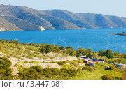 Водохранилище Курис, Кипр. Стоковое фото, фотограф Миронова Евгения / Фотобанк Лори