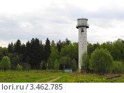 Водонапорная башня. Стоковое фото, фотограф Евгения Плешакова / Фотобанк Лори