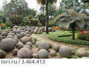 Купить «Тропический сад Нонг Нуч. Паттайя, Таиланд», фото № 3464413, снято 24 марта 2012 г. (c) Григорий Писоцкий / Фотобанк Лори