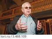 Купить «Народный артист СССР Олег Табаков», эксклюзивное фото № 3468109, снято 24 апреля 2012 г. (c) Александр Тарасенков / Фотобанк Лори