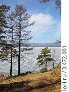 Озеро Тургояк . Ранняя весна. Стоковое фото, фотограф Виталий Горелов / Фотобанк Лори