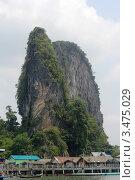 Скала морских цыган в Таиланде (2012 год). Редакционное фото, фотограф Джакобия Екатерина / Фотобанк Лори