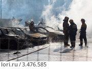 Тушение автомобилей (2012 год). Редакционное фото, фотограф Alexander Dmitriev / Фотобанк Лори