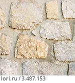 Купить «Каменная стена. Фон», фото № 3487153, снято 13 марта 2008 г. (c) Дмитрий Наумов / Фотобанк Лори