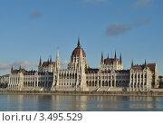 Будапешт. Здание парламента (2011 год). Стоковое фото, фотограф Igor5 / Фотобанк Лори