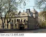 Купить «Посольство Индии в Москве на улице Воронцово Поле», фото № 3495649, снято 30 апреля 2012 г. (c) SevenOne / Фотобанк Лори