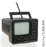 Купить «Советский малогабаритный полупроводниковый телевизор», фото № 3496805, снято 27 мая 2011 г. (c) Грачев Игорь / Фотобанк Лори