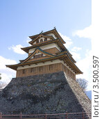 Купить «Замок  Такасима, г.Сува, Япония», фото № 3500597, снято 7 апреля 2012 г. (c) Иван Марчук / Фотобанк Лори