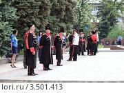 Купить «На параде Победы, Макеевка, Украина», фото № 3501413, снято 9 мая 2012 г. (c) Артем Поваров / Фотобанк Лори