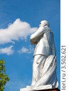 Купить «Памятник В.И.Ленину на Привокзальной площади, город Балашов, Саратовская область.», эксклюзивное фото № 3502621, снято 6 мая 2011 г. (c) Истомина Елена / Фотобанк Лори