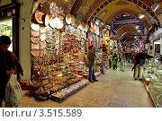 Купить «Стамбул. Турция. Гранд Базар (Капалы Чарши)», эксклюзивное фото № 3515589, снято 20 марта 2009 г. (c) Андрей Дегтярёв / Фотобанк Лори