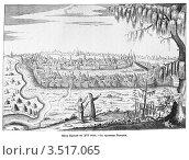 Купить «Вид Казани в XVI веке, старинная гравюра», иллюстрация № 3517065 (c) Инна Грязнова / Фотобанк Лори