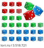 Купить «Игральные кости», иллюстрация № 3518721 (c) Dvarg / Фотобанк Лори