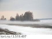 Весенний туман. Стоковое фото, фотограф Семин Илья / Фотобанк Лори