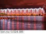 Ночной Минск (2012 год). Стоковое фото, фотограф Наталия Журова / Фотобанк Лори
