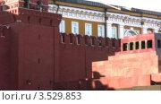 Купить «Вид на Красную площадь в Москве», видеоролик № 3529853, снято 7 ноября 2008 г. (c) Losevsky Pavel / Фотобанк Лори
