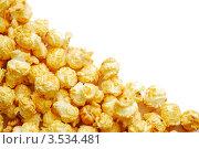Фон с воздушной кукурузой (попкорн) Стоковое фото, фотограф human / Фотобанк Лори