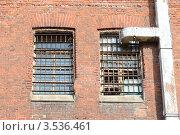 Купить «Тюремные окна», эксклюзивное фото № 3536461, снято 16 апреля 2012 г. (c) Free Wind / Фотобанк Лори