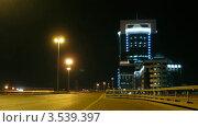 Купить «Машины на скорости на мосту, таймлапс», видеоролик № 3539397, снято 23 мая 2009 г. (c) Losevsky Pavel / Фотобанк Лори