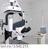 Аппаратура для глазной клиники (2012 год). Редакционное фото, фотограф Илья Шкоденко / Фотобанк Лори