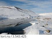 Купить «Весенний тундровый пейзаж», фото № 3543425, снято 15 мая 2012 г. (c) Максим Деминов / Фотобанк Лори