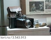 Фотоаппарат военного репортера (2012 год). Редакционное фото, фотограф Владимир Макеев / Фотобанк Лори