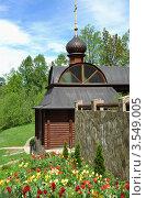 Саввино-Сторожевский монастырь. Святой источник (2012 год). Стоковое фото, фотограф Igor5 / Фотобанк Лори