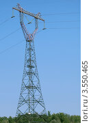 Купить «Опора ЛЭП», фото № 3550465, снято 23 июля 2011 г. (c) Надежда Болотина / Фотобанк Лори