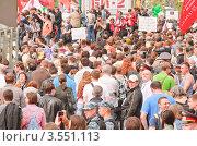 Марш миллионов в Москве 6 мая 2012 года. Редакционное фото, фотограф Алёшина Оксана / Фотобанк Лори