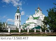 Купить «Церковь Пресвятой Троицы г. Йошкар-Ола», фото № 3560417, снято 27 мая 2009 г. (c) Татьяна Лепилова / Фотобанк Лори