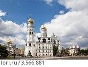 Купить «Ивановская площадь Московского Кремля», фото № 3566881, снято 29 мая 2012 г. (c) Наталья Волкова / Фотобанк Лори