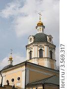 Церковь Николы в Звонарях. Москва (2012 год). Стоковое фото, фотограф Скитева Екатерина / Фотобанк Лори