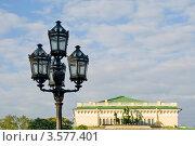 Уличный фонарь на площади Островского. Санкт-Петербург (2012 год). Стоковое фото, фотограф Александр Щепин / Фотобанк Лори