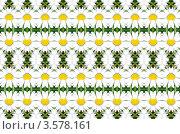 Купить «Бесшовный фон из ромашек», иллюстрация № 3578161 (c) Илюхина Наталья / Фотобанк Лори