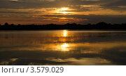 Купить «Восход Солнца над Днепром», фото № 3579029, снято 4 июня 2012 г. (c) Несинов Олег / Фотобанк Лори