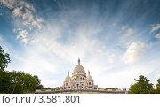Купить «Базилика Святого Сердца (Le Sacre-Coeur) в Париже», фото № 3581801, снято 2 сентября 2011 г. (c) Константин Ёлшин / Фотобанк Лори