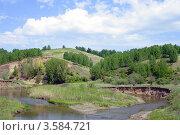 Купить «Река Серта», фото № 3584721, снято 2 июня 2012 г. (c) Ольга Остроухова / Фотобанк Лори