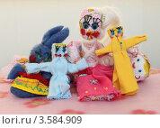 Кукла-мотанка-пеленашка. Стоковое фото, фотограф Денис Кошель / Фотобанк Лори