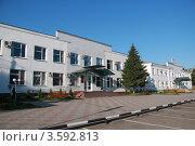 Здание районной администрации г. Новоалександровска (2012 год). Редакционное фото, фотограф Захаренко Дмитрий / Фотобанк Лори