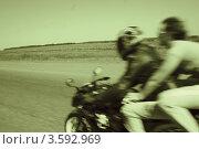 Ветер скорости. Стоковое фото, фотограф Татьяна Плешакова / Фотобанк Лори
