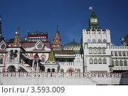 Россия, Москва. Кремль в Измайлове (2012 год). Редакционное фото, фотограф Алексей Семенушкин / Фотобанк Лори
