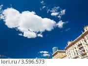 Купить «Московское небо», фото № 3596573, снято 17 июня 2012 г. (c) Екатерина Овсянникова / Фотобанк Лори
