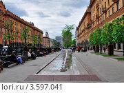 Улица Ленина, г. Минск (2012 год). Редакционное фото, фотограф Наталия Журова / Фотобанк Лори