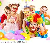 Купить «Детский день рождения. Праздник», фото № 3600681, снято 17 марта 2012 г. (c) Gennadiy Poznyakov / Фотобанк Лори